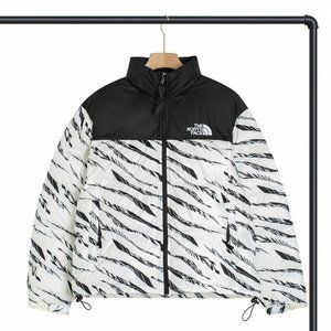 The North Face Asian Limited Zebra Pattern Puffer